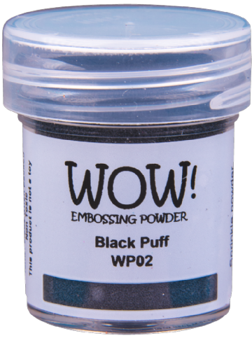 WP02 Black Puff Ultra High